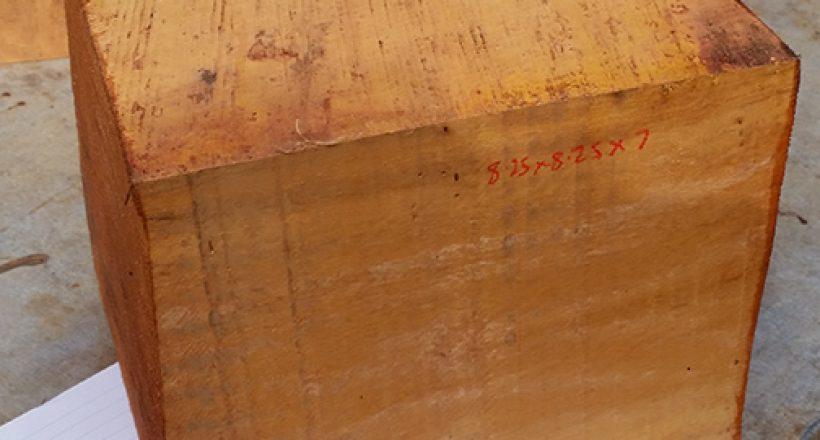 Woodturning blanks - Hybrid Mahogany from Puerto Rico